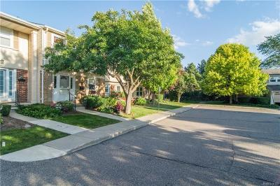 Troy Condo/Townhouse For Sale: 5052 Buckingham