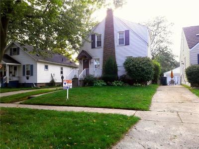 Royal Oak Single Family Home For Sale: 809 N Dorchester Ave