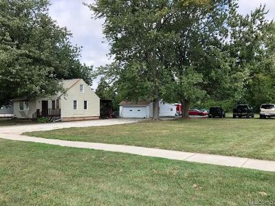 Fraser Single Family Home For Sale: 16045 E 13 Mile Rd