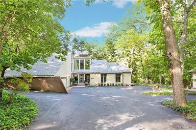 Bloomfield Hills Single Family Home For Sale: 1375 Trowbridge Rd