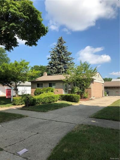 Sterling Heights Single Family Home For Sale: 11841 Greenway Dr