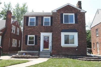 Detroit Single Family Home For Sale: 4433 Bishop St