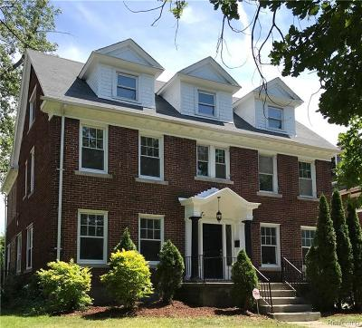 Detroit Single Family Home For Sale: 1925 Longfellow St
