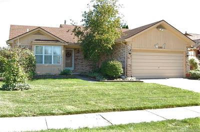 Canton Single Family Home For Sale: 2383 Cranbrook