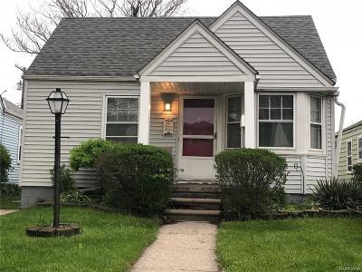Detroit Single Family Home For Sale: 3724 S Ethel St
