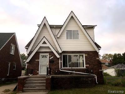 Detroit Single Family Home For Sale: 8151 Rolyat St