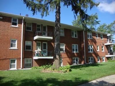 Detroit Condo/Townhouse For Sale: 2557 W McNichols Rd