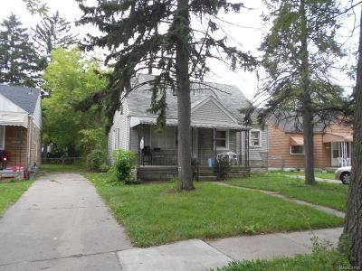 Detroit Single Family Home For Sale: 6365 Longacre St