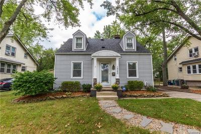 Ferndale Single Family Home For Sale: 1260 Albany St