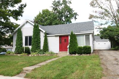 Lapeer Single Family Home For Sale: 6854 Jefferson Rd