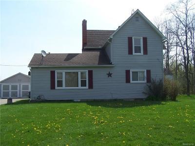 Saint Clair  Single Family Home For Sale: 1709 Wadhams Rd