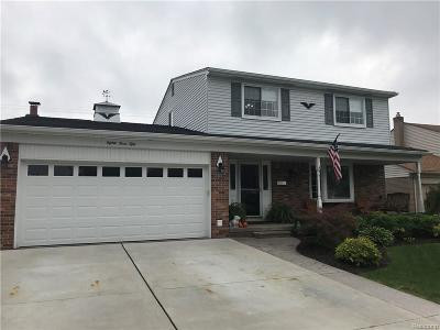 Sterling Heights Single Family Home For Sale: 8350 Fairfax Dr