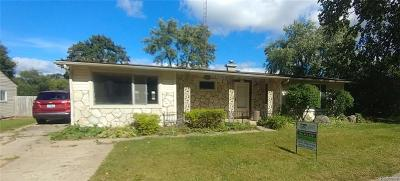 Lake Orion Single Family Home For Sale: 2354 Flintridge St
