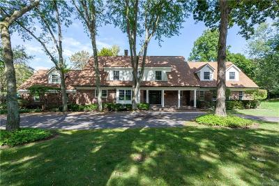 Franklin Single Family Home For Sale: 27740 Lakehills