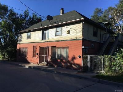 Detroit Multi Family Home For Sale: 3521 Gibson St