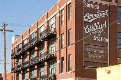Detroit Condo/Townhouse For Sale: 444 W Willis