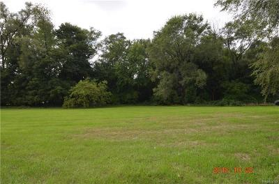 Residential Lots & Land For Sale: Rochester Rd