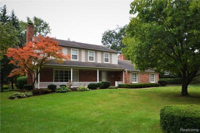 Bloomfield Hills Single Family Home For Sale: 1351 Aberdovey Plc