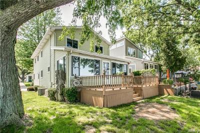 St. Clair Single Family Home For Sale: 4746 Lakeshore Rd