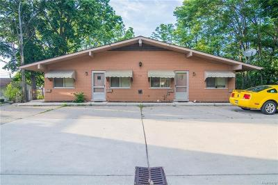 Belleville Multi Family Home For Sale: 176 W Columbia Ave