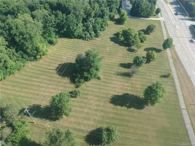 Residential Lots & Land For Sale: Livernois Rd