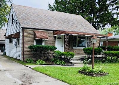 Warren Single Family Home For Sale: 11429 Young Ave