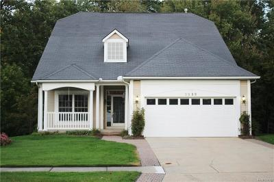 Auburn Hills Condo/Townhouse For Sale: 3589 Riverside Dr