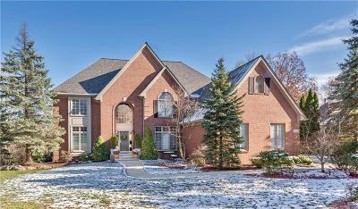 Rochester Hills Single Family Home For Sale: 1988 Tall Oaks Blvd