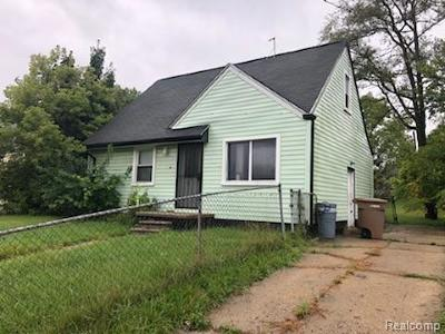 Pontiac Single Family Home For Sale: 318 Seward St