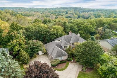 Farmington Hills Single Family Home For Sale: 34231 Ramble Hills Dr
