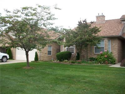 Canton Condo/Townhouse For Sale: 520 Cherry Hill Pointe Drive