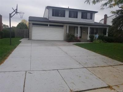 Sterling Heights Single Family Home For Sale: 3564 Barbara Dr