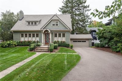 Birmingham Single Family Home For Sale: 685 Southfield Rd