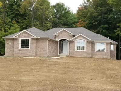 Lapeer Single Family Home For Sale: 299 Regional Way