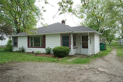 Belleville Single Family Home For Sale: 9290 Rawsonville Rd