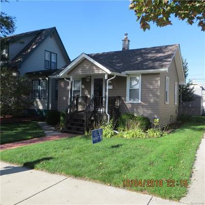 Lincoln Park Single Family Home For Sale: 978 Park Ave