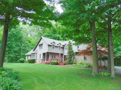 Lapeer Single Family Home For Sale: 1771 Peppermill