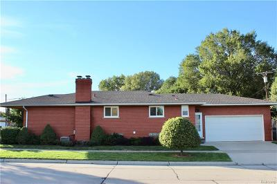 Allen Park Single Family Home For Sale: 15104 Reo Ave