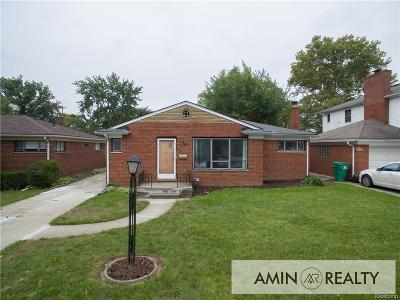 Eastpointe Single Family Home For Sale: 16504 Collinson Ave
