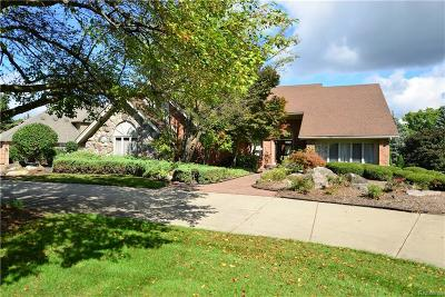 Rochester Single Family Home For Sale: 1595 Pebble Creek Dr