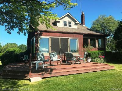 Single Family Home For Sale: 7629 River Road