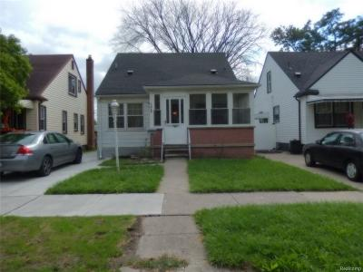Lincoln Park Single Family Home For Sale: 1717 Pagel Ave