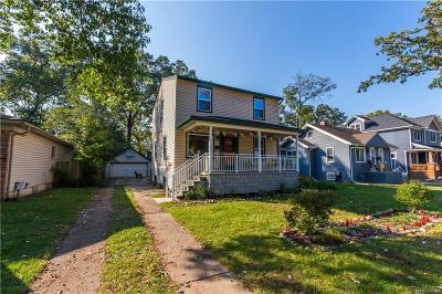 Royal Oak Single Family Home For Sale: 1522 Wyandotte Ave