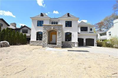 Birmingham Single Family Home For Sale: 271 Fairfax St