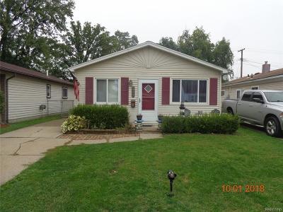 Saint Clair Shores Single Family Home For Sale: 20223 Avalon St
