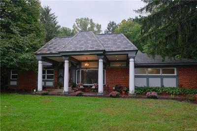 Plymouth Single Family Home For Sale: 46775 W Ann Arbor Trail Trl