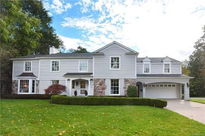 Birmingham Single Family Home For Sale: 1298 N Glenhurst Dr