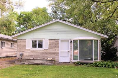 Ferndale Single Family Home For Sale: 3350 McDowell St