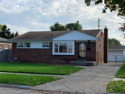 Eastpointe Single Family Home For Sale: 24694 Petersburg Ave