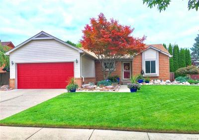 Westland Single Family Home For Sale: 33454 Bordeaux Crt